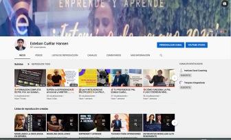 Canal de Youtube de Esteban Cuellar Hansen