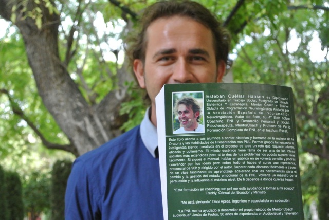 Libro contraportada Trainer PNL copia bajada de peso